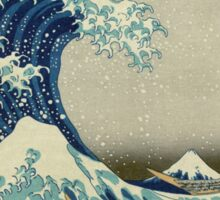 Vintage poster - The Great Wave Off Kanagawa Sticker
