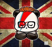 Bowie Panda by Panda And Polar Bear