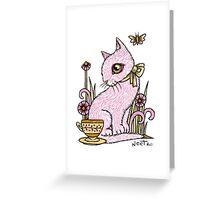 Dinah's Best China Greeting Card