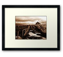 Claughton Moor Framed Print