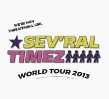 SEV'RAL TIMEZ - World Tour 2013 Baby Tee