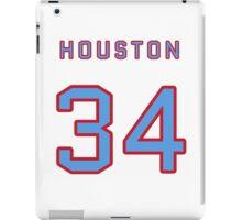 Houston Retro Football (I) iPad Case/Skin