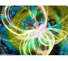 Galactic Butterfly Photographic Print