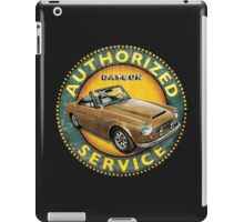 Datsun 2000 Authorized Service iPad Case/Skin