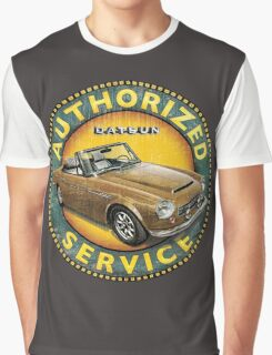 Datsun 2000 Authorized Service Graphic T-Shirt