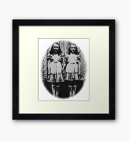 The Shining - Twins Framed Print