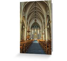 St Mary's Painted Church Greeting Card
