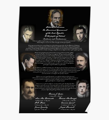 The Irish Proclamation of Independence Poster