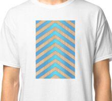 turquoise chevron Classic T-Shirt