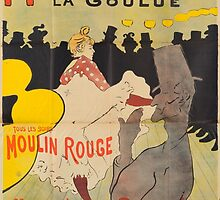 Vintage poster - Moulin Rouge by mosfunky