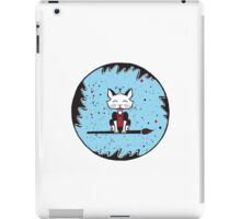 A Cat's World of Calligraphy iPad Case/Skin