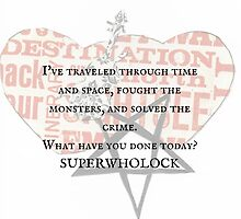 SUPERWHOLOCK all in a day's work by expandingmind