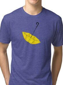The Yellow Umbrella Tri-blend T-Shirt
