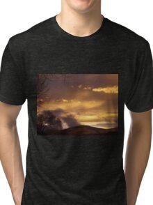 Mystical Sunset Tri-blend T-Shirt