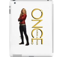 OUAT, once upon a time, OUAT emma swan, emma, swan iPad Case/Skin