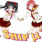 I Ship μ's by izabelew