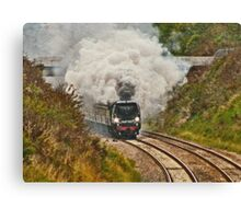 All Aboard and Bound for Abroad Canvas Print