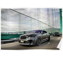 Sector 7 Motoring Bentley Continentals Poster