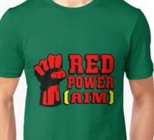 RED POWER (AIM) Unisex T-Shirt