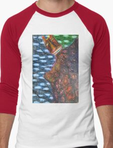 Monster 2 - Abstract Men's Baseball ¾ T-Shirt