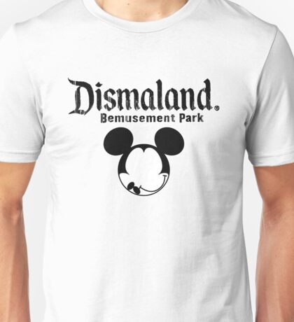 Dismaland Mickey Unisex T-Shirt