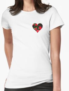 Valentine Heart and Flowers T-Shirt