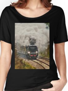 All Aboard and Bound for Abroad Women's Relaxed Fit T-Shirt