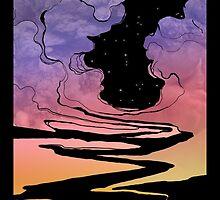 Techno Colour Desert Nomad by alexluna