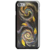 Golden Spiral Trinity (vertical) iPhone Case/Skin