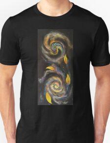 Golden Spiral Trinity (vertical) Unisex T-Shirt