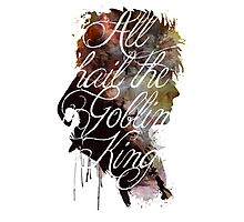 David Bowie // Labyrinth // All Hail the Goblin King Photographic Print