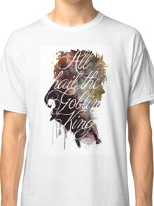 David Bowie // Labyrinth // All Hail the Goblin King Classic T-Shirt
