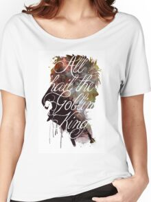 David Bowie // Labyrinth // All Hail the Goblin King Women's Relaxed Fit T-Shirt