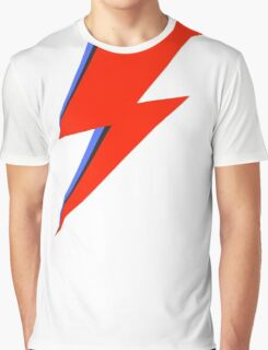 Aladdin Sane Lightning Flash  Graphic T-Shirt