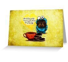 WHAT MY COFFEE SAYS TO ME OCTOBER 7, 2015 Greeting Card