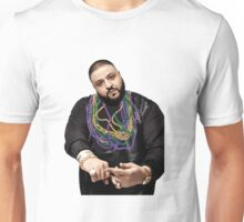 DJ Khaled w/ Beads  Unisex T-Shirt