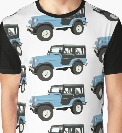 Roscoe the Jeep! Graphic T-Shirt