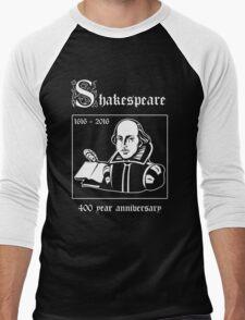 Shakespeare -- 400 Year Anniversary Men's Baseball ¾ T-Shirt