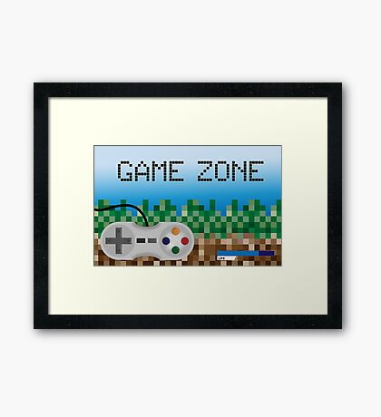 Game Zone Framed Print