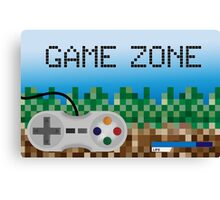 Game Zone Canvas Print
