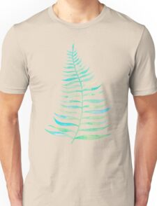 Palm Leaf – Sea Foam Palette Unisex T-Shirt