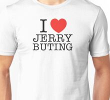 I Heart Jerry Buting - Black Unisex T-Shirt