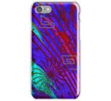 Abstract design with lines. iPhone Case/Skin
