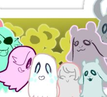 Ghost Family Sticker