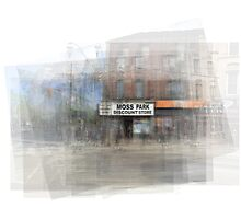 Moss Park Discount Store Toronto Photographic Print