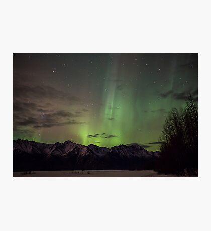 Lady Aurora Shines Through Photographic Print