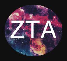 Zeta Tau Alpha Galaxy Print Baby Tee