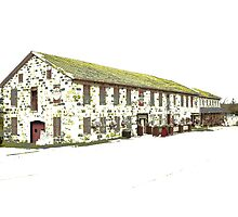 home of 10w30 (and I'm not talkin' motor oil) - Neustadt Springs Brewery, Neustadt, ON Canada Photographic Print
