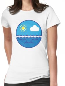 Sea Faced Womens Fitted T-Shirt