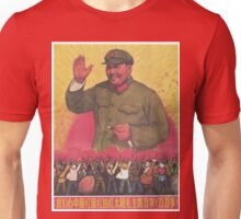 Vintage poster - Mao Zedong Unisex T-Shirt